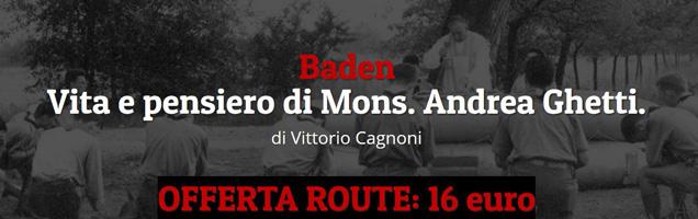 """libro Baden: promozione """"Route"""""""